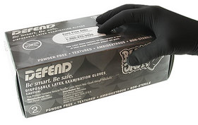 Defend Black Jack Exam Gloves