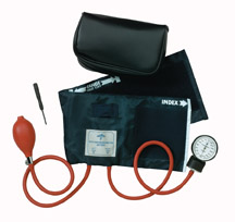 Medline Latex-Free Handheld Aneroid - PVC - Adult - Click Image to Close