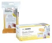 Medela Quick Clean Breast Pump Wipes -24PK