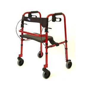 Rollite Adult Rollator - Red